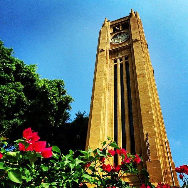 The Hamidiyi Clock Tower in Place de l'Etoile #Beirut #Lebanon #Libano