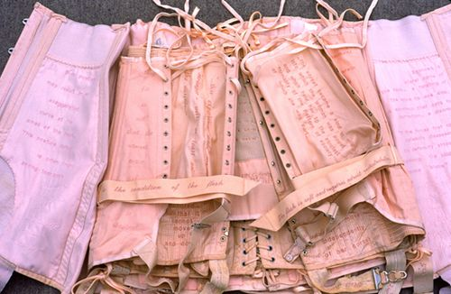 <p>Untitled Pink Corset Book</p>