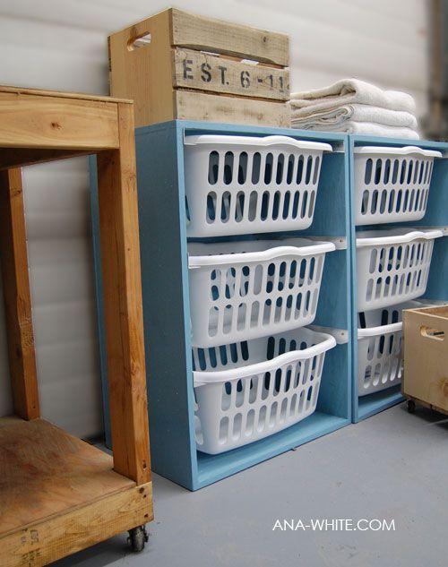 diy laundry dresser