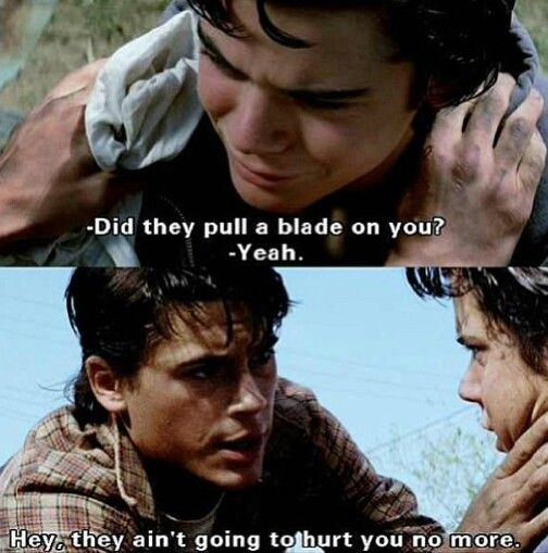 Famous Quotes From The Outsiders Movie: 158 Best Images About The Outsiders On Pinterest