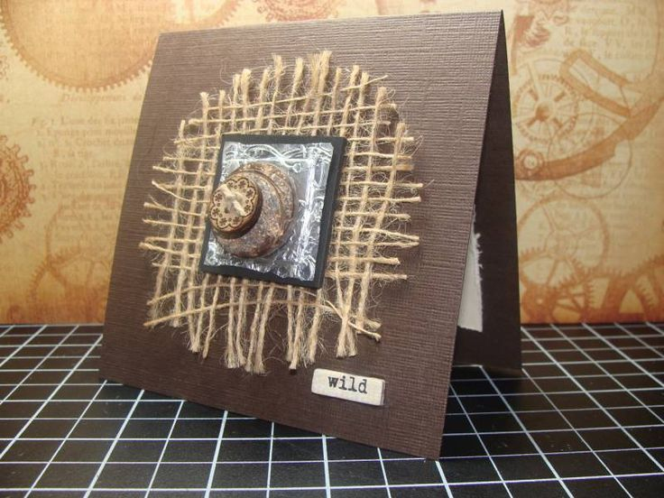 1000+ images about Handmade Cards - Burlap on Pinterest
