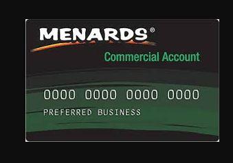 menards card login