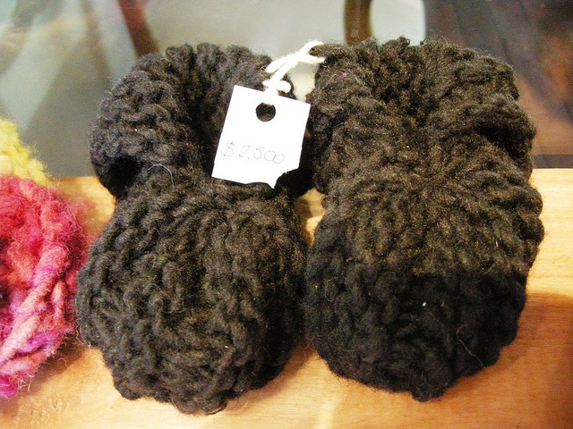 Zapatitos lana de obeja CLP$2.500