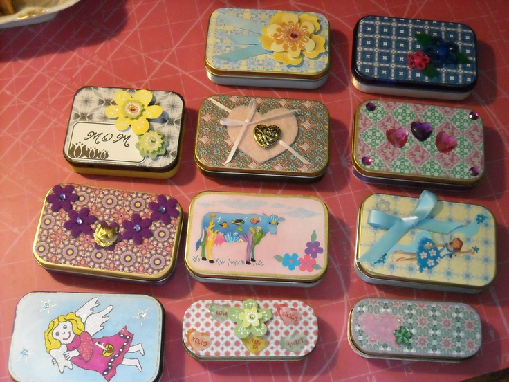 247 best altoids tins images on pinterest altoids tins altered altoid box tins love the ideas to hold gift cards reheart Images