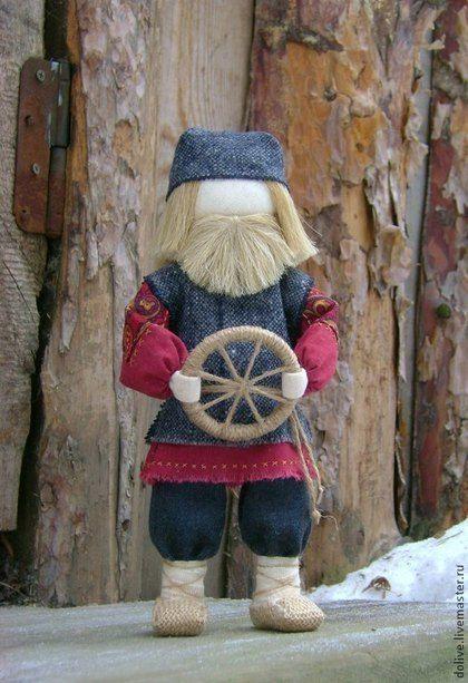 """Народные куклы ручной работы. Ярмарка Мастеров - ручная работа кукла """"Спиридон-Солнцеворот"""". Handmade."""