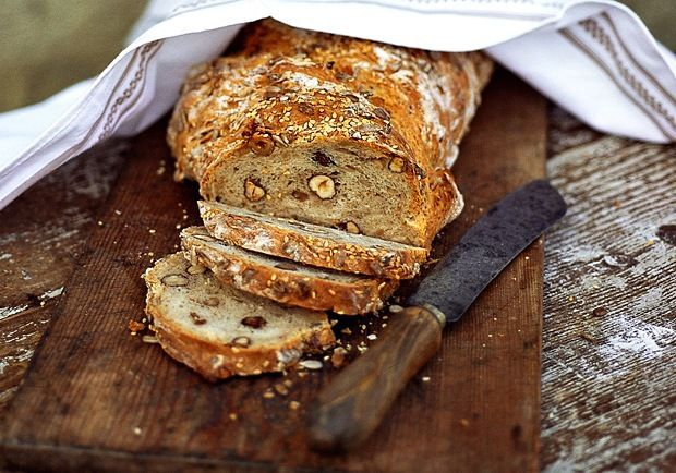 nutty bread | Bakery | Pinterest