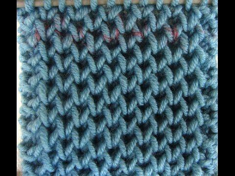 Πλέξιμο - Κυψελωτή πλέξη - Honeycomb Brioche - YouTube