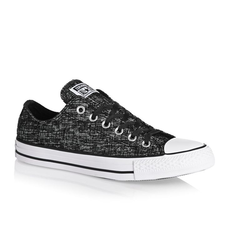 CONVERSE CHUCK TAYLOR ALL STAR SHOES BLACK/WHITE SZ. UK 7