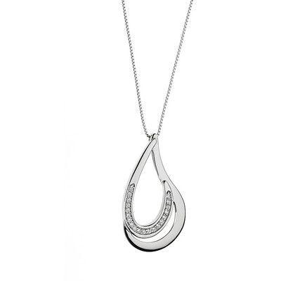 Comete ladies necklace Fantasie di diamanti GLB 1136 - WeJewellery