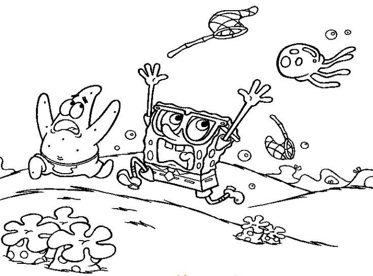 85 best Sponge Bob Square Pants images on Pinterest Sponge bob - best of spongebob underwater coloring pages