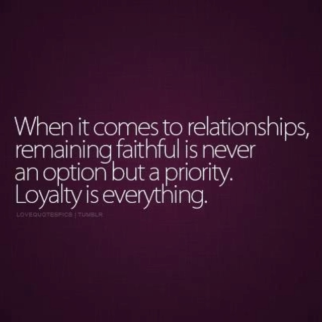 faithful meaning in relationship with a married