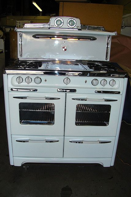 Restored Vintage Electric Stoves ~ Restored antique stove it comes in red stoves and