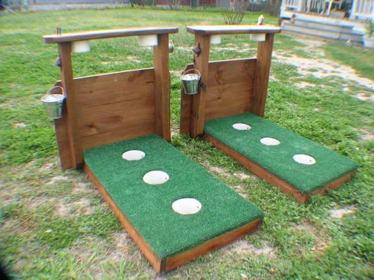 Kelly's Cornhole Boards - 3 Hole Washer Game Boards