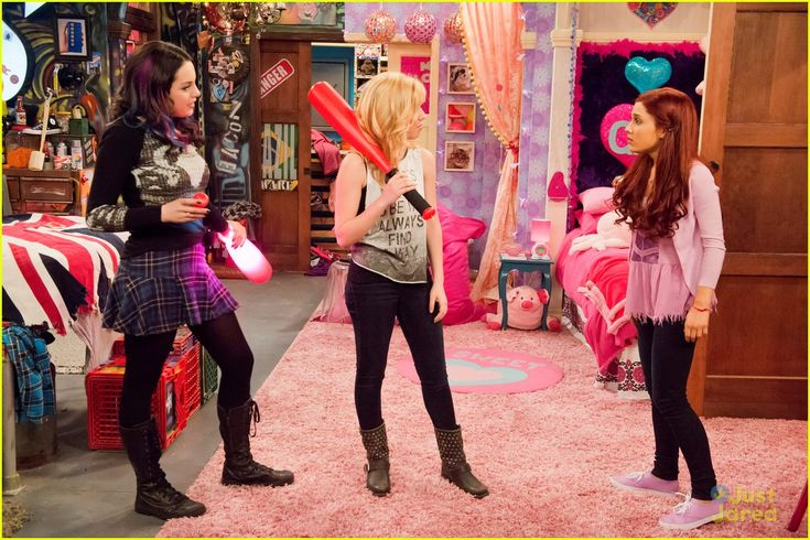 S1 Ep23 #TheKillerTunaJump: Freddie, Jade, Robbie - Jade, Sam and Cat