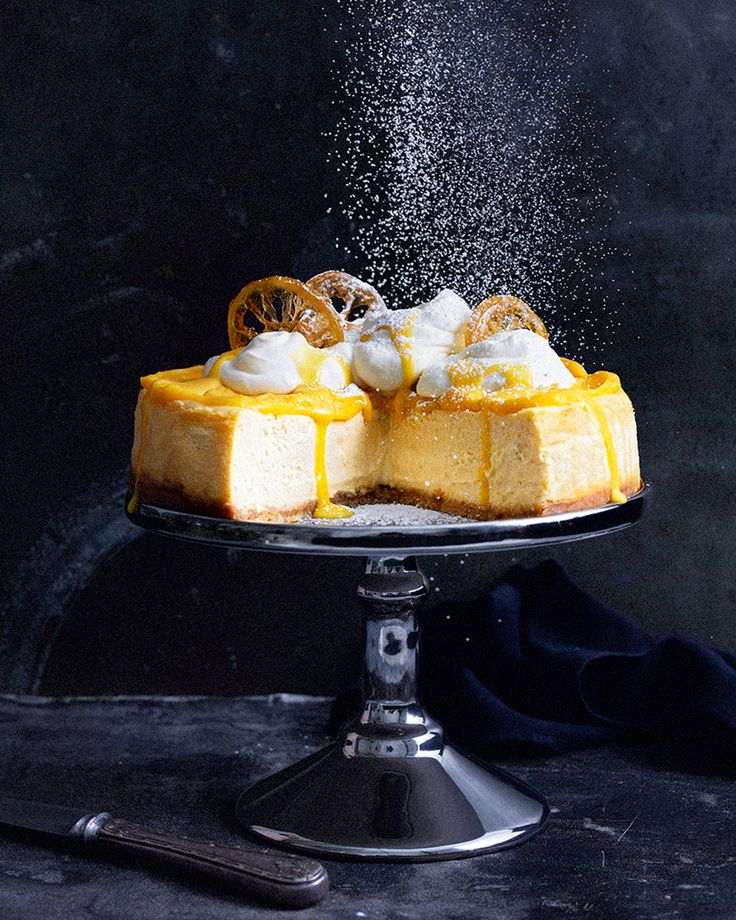 Bring a little sunshine into your life with Simmone Logue's cheesecake recipe – crammed full of joyful flavours it's the perfect dessert for citrus lovers.