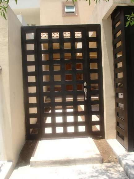Puertas and haciendas on pinterest for Puertas principales