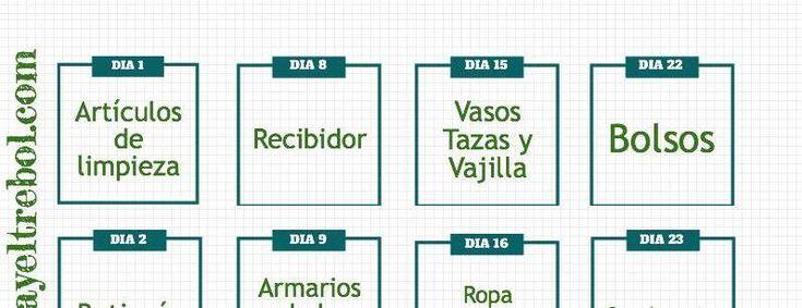 plan vida organizada