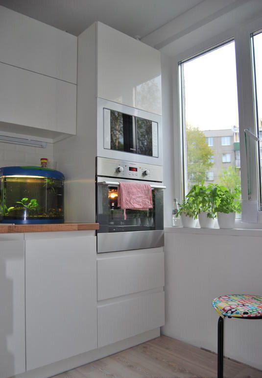 Дизайн угловой белой кухни 6 кв.м в Минске (13 фото ...