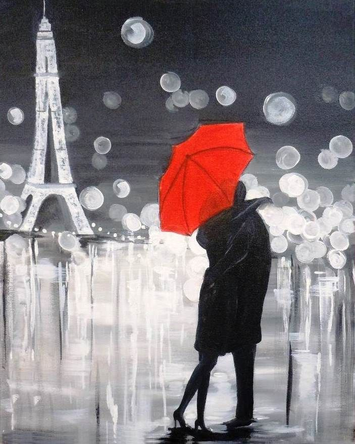 Red Umbrellas Artists Red Umbrella For Couples Or