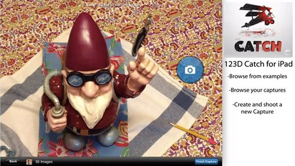 This is CRAZY!  Capture 3D Objects with 123D Catch App