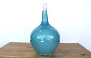 Aqua ceramic lamp www.waringsathome.co.uk