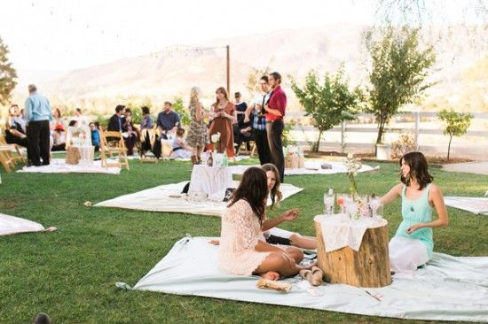 Rehearsal Dinner?  picnic style reception