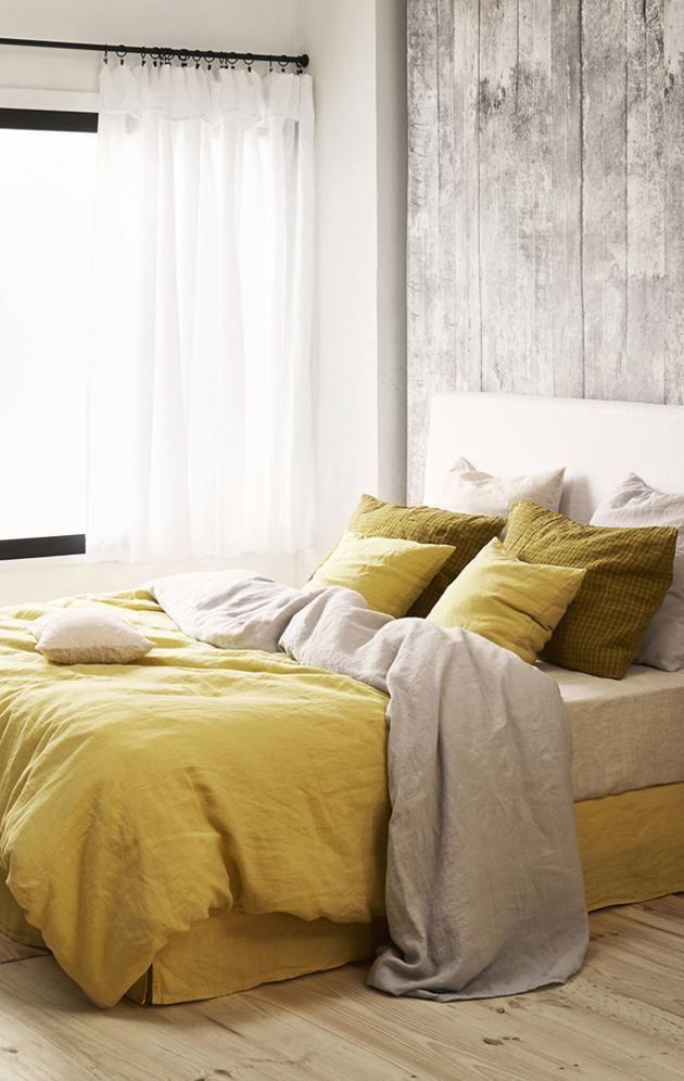 Linge de lit en lin - Linge de maison de qualité   Merci