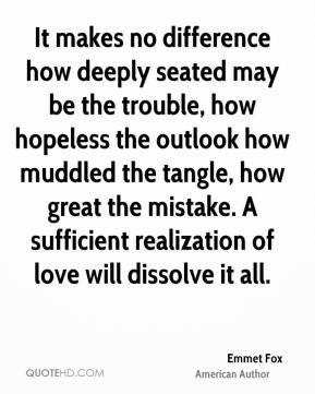 quote truth emmett fox
