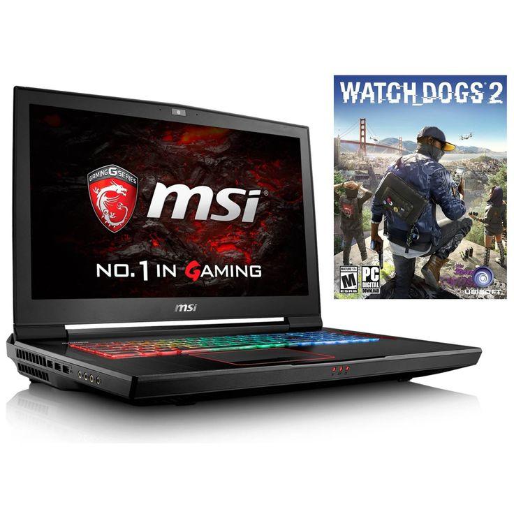"MSI GT73VR TITAN (i7-6820HK, 16GB RAM, 128GB NVMe SSD + 1TB HDD, NVIDIA GTX 1070 8GB, 17.3"" Full HD, Windows 10) VR Ready Custom Gaming Notebook. Display: 17.3"" Full HD (1920 x 1080) Anti-Glare Wide View Angle 120Hz 5ms 94%NTSC   Graphics Card: NVIDIA® GeForce® GTX 1070 8GB GDDR5 (VR Ready). Processor: 6th Gen Intel® Skylake Core i7-6820HK Quad Core (2.7GHz-3.6GHz, 8MB Intel® Smart Cache, 45W). RAM: 16GB DDR4 2400MHz (2x 8GB)   Hard Drive: 128GB PCIe NVMe SSD + 1TB 7200RPM HDD. OS:..."