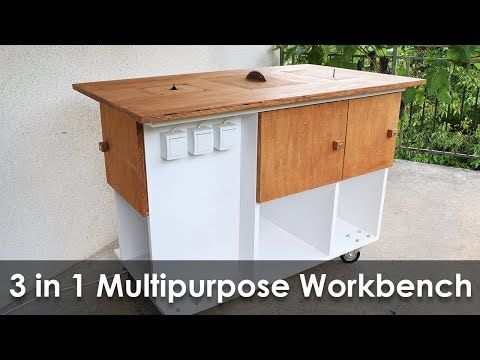 Homemade 3 in 1 Multipurpose Workbench: Table Saw, Router Table and Inverted Jigsaw (Free Plans): 15 Steps (with Pictures)