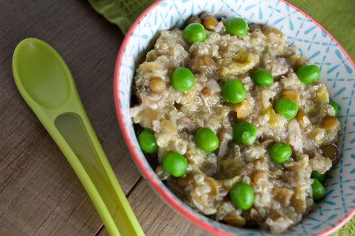 Chicken, lentil and leek one pot wonder