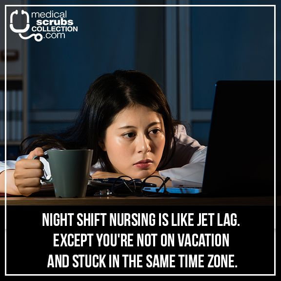 Shoutout to all you nurses covering night shift right now
