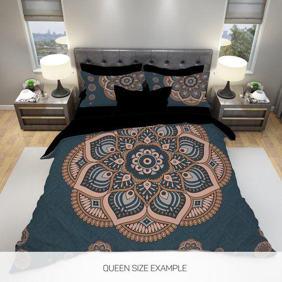 Boho Bedding Set Boho Duvet Cover Boho Bedding Boho Queen Etsy Boho Bedding Sets Bedding Sets Luxury Bedding Master Bedroom