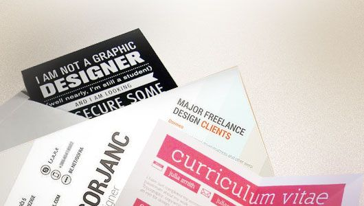 15 Examples of Attractive Graphic Design Resumes (CV)