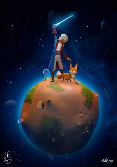 The Little Prince – to the kids for Holly . . .