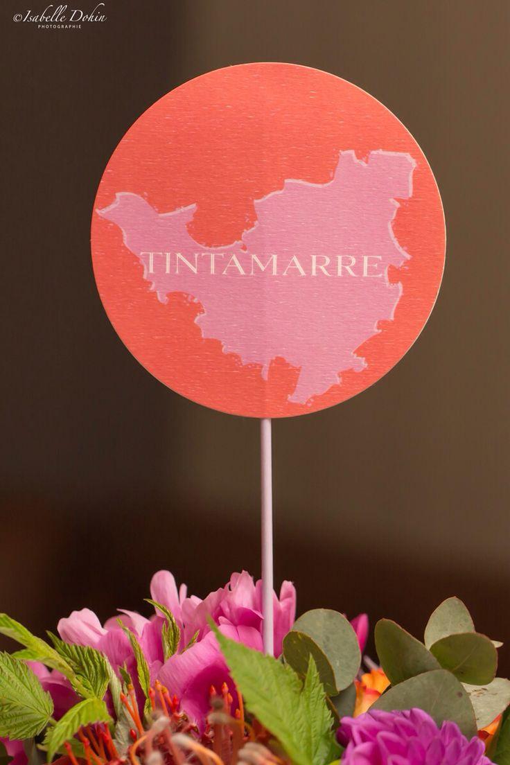 Table names - noms de table #wedding #exotique #tropical rs ! Photo www.isabelledohin.com