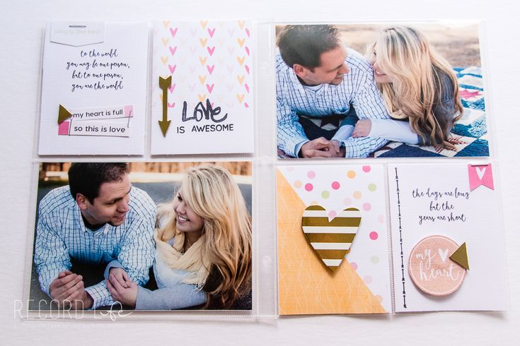 6x8 Project Life Layout | Pocket Page Style Scrapbook feat. Little Lamm Co. designs and Kellie Stamps — Turquoise Avenue5.jpg