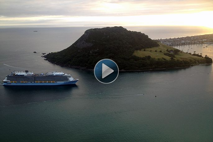 SunLive - Welcome to Tauranga Ovation of the Sea - The Bay's News First