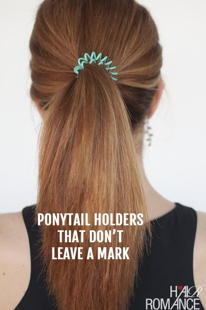 Hair Romance - ponytail holders that don't leave a mark