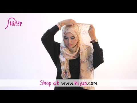 ▶ Hijab Tutorial Style 47 by HijUp.com - YouTube