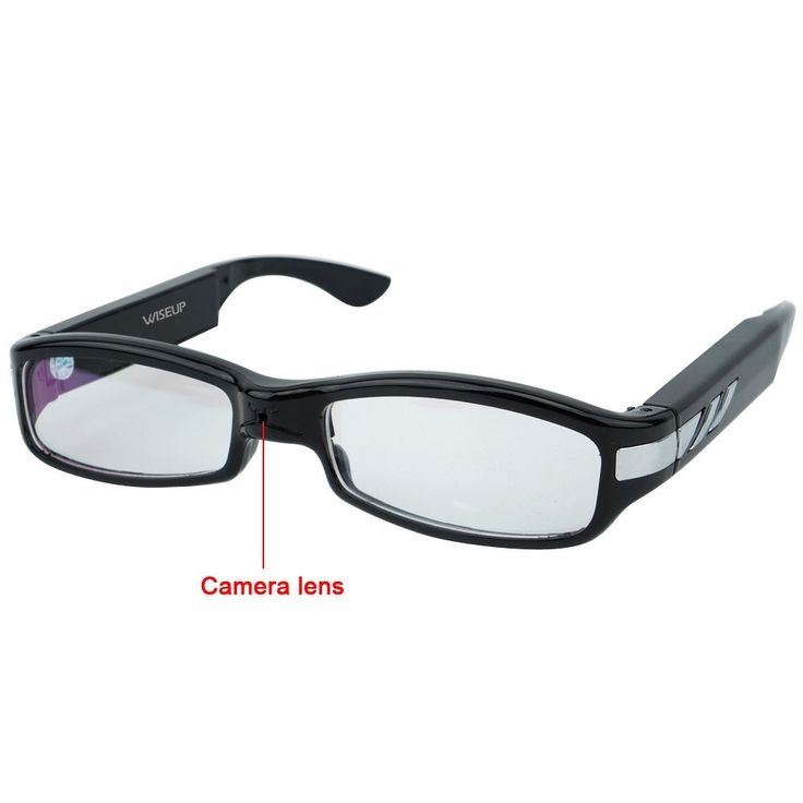 $66, Wiseup 8GB 1280x720P HD Spy Camera #Glasses Video Recorder with Audio Recording Function