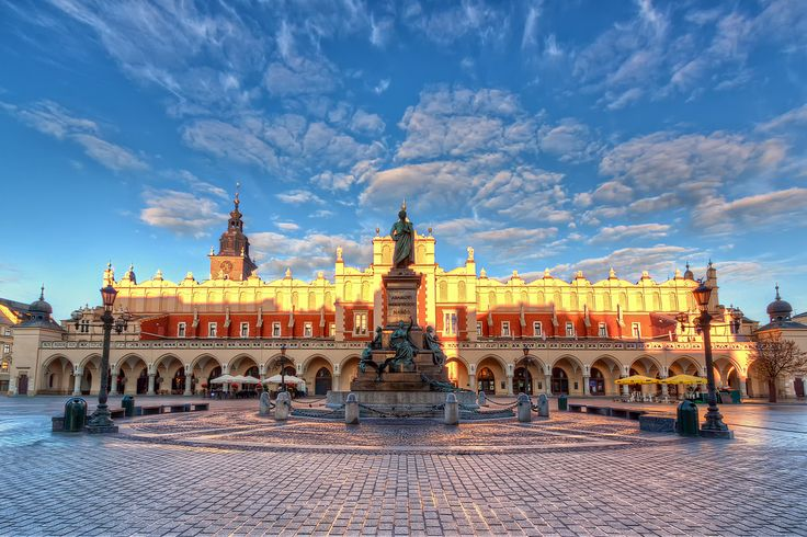 First Light on the Kraków Main Square | Poland | Flickr - Photo Sharing!