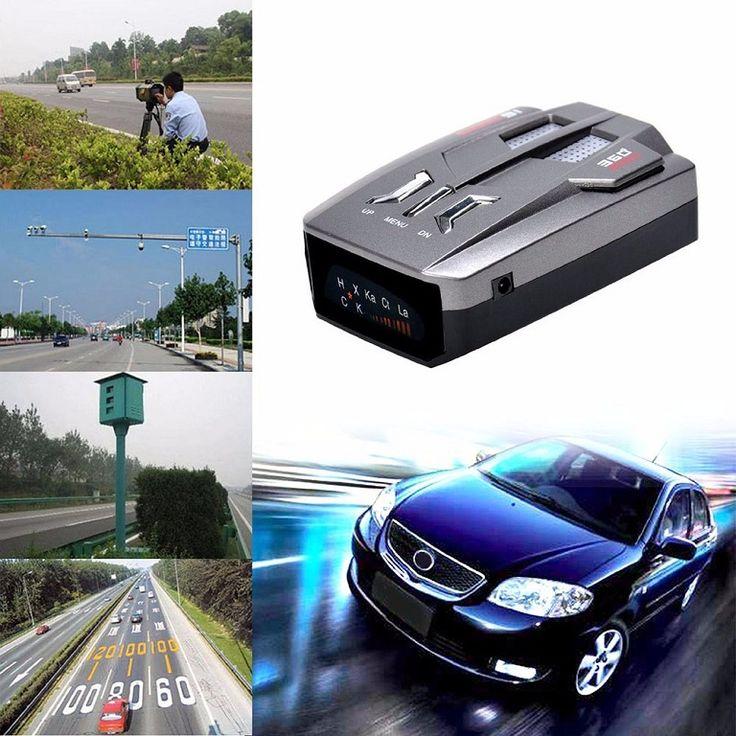 Hot Selling V9 Car Anti-Police LED GPS Radar Detector Automotive Velocimetry System 16 Band NK KU KA Laser VG-2