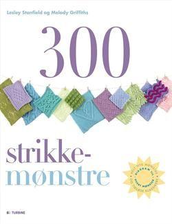 300 Strikkemønstre - Strik og broderi - garn, kits og designs i Sommerfuglen