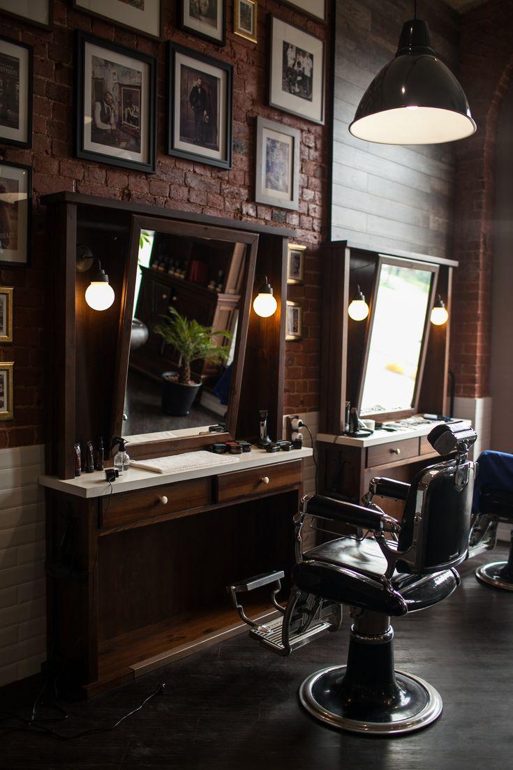 barbershop mrright design designinteriors barbershop - Barbershop Design Ideas