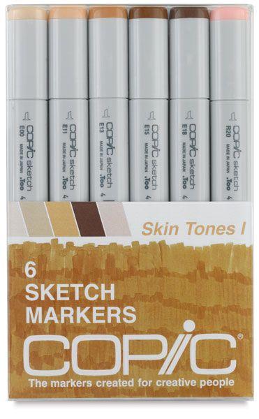 COPIC artist markers, Skin Tones I - Amazon.com - $30.00