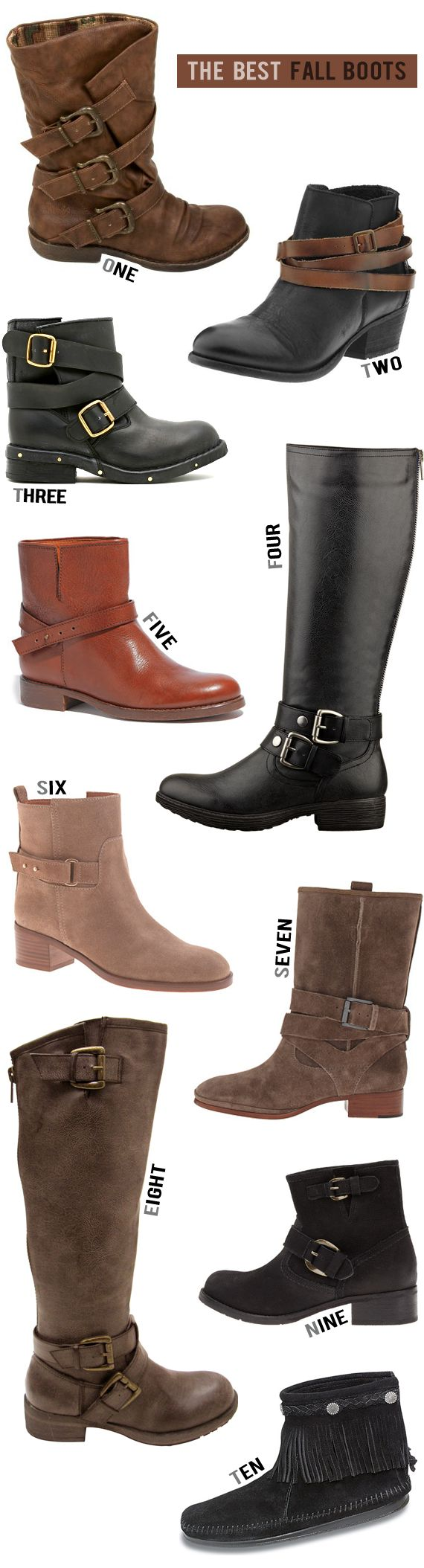 The 10 Best Boots for Fall 2013 - I am a Boot Fanatic!!!