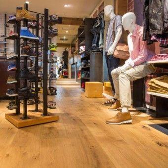 Finfloor - Woodline Parquetry wooden Flooring colour Mackenne Oak