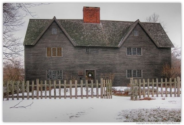 The Whipple House, one of Ipswich's most famous First Period houses. #homes