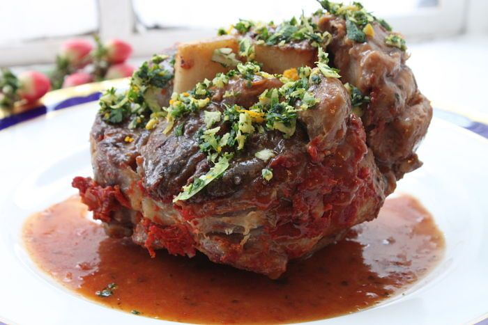 This Osso Bucco is off the rails!